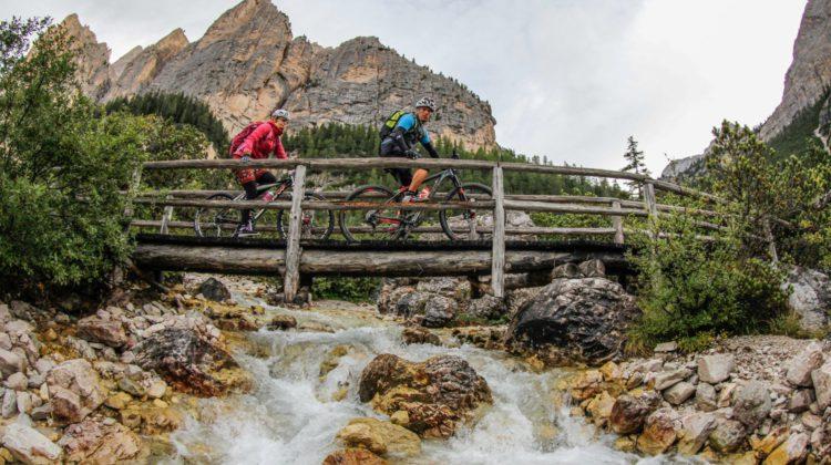 Mountain Bike in Alta Badia