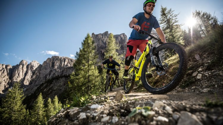 Downhill Freeride in Alta Badia