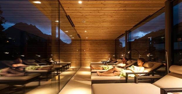 Ruheraum Sauna
