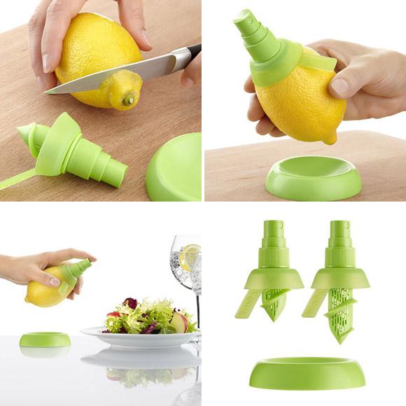 Zitronenpresse direkt aus der Zitrone - Vitamin C