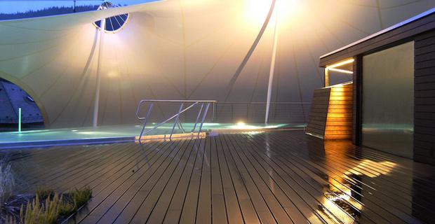 Aussenbereich - Palais Thermal