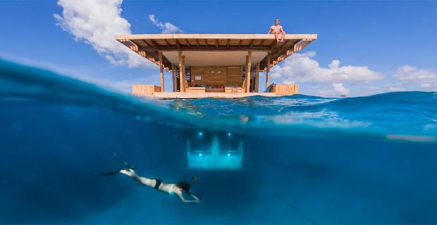 Unterwasserhotel