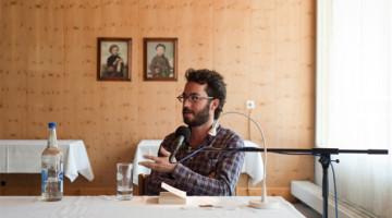 Jonathan Safran Foer am Literaturfestival im Schweizer Wellnessort Leukerbad