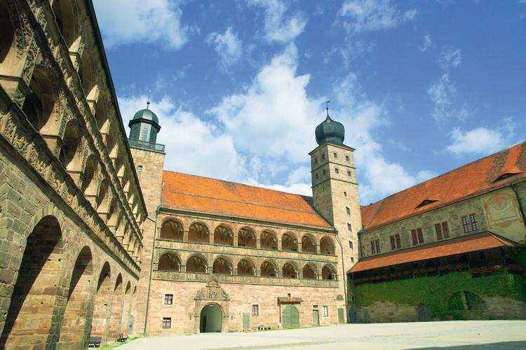 Schöner Hof Plassenburg