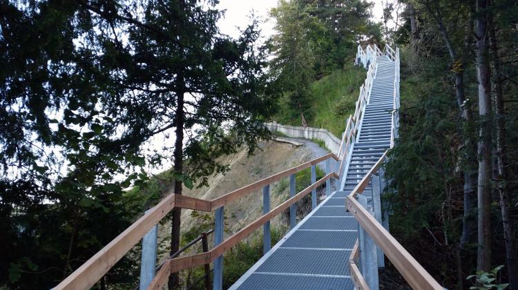 Neue Treppe Uetliberg