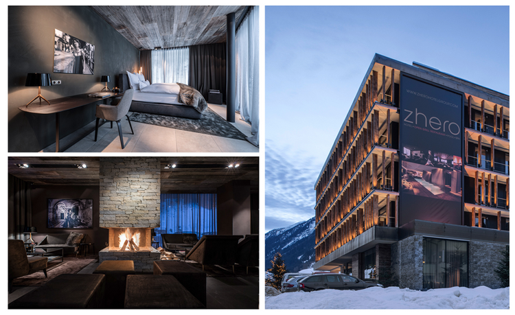 Vier design hotels in bester lage wellnessino for Design hotel ischgl