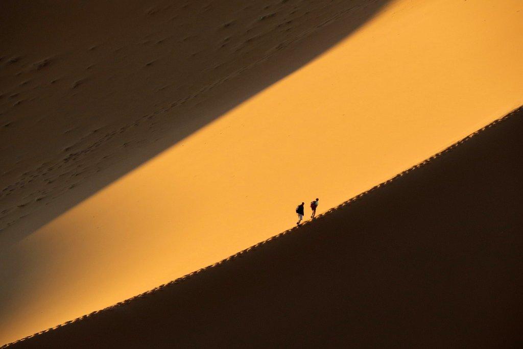 Dünen von Sossusvlei bei Sesriem in Namibia Marco Schnell Namibia, Sesriem