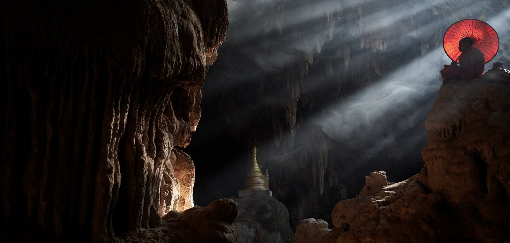 captured in a cave in Myanmar due the late afternoon Mario Becker Myanmar, Mandalay