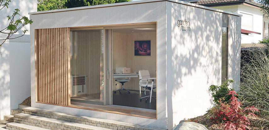 GARDENROOM - das moderne ganzjahres Gartenhaus mit Online-Konfigurator