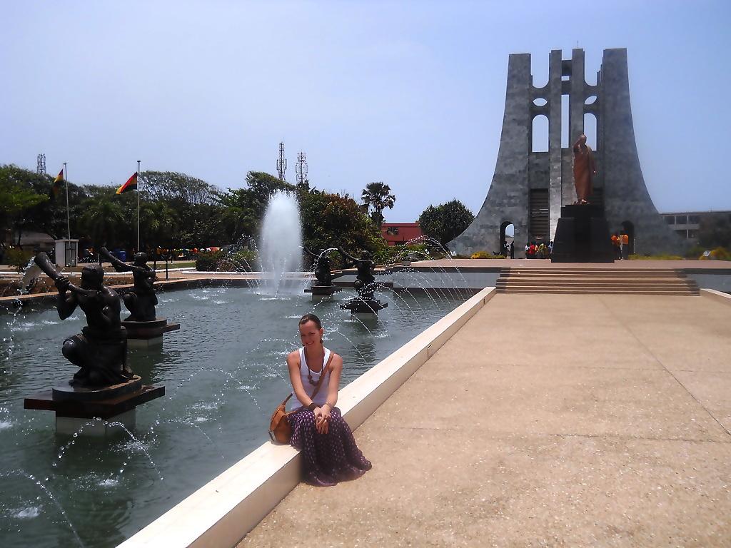 Kwame Nkrumah Memorial Parc Accra Ghana