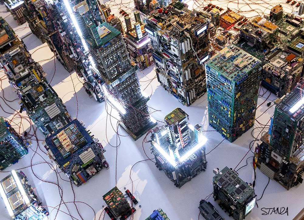 Stanza, The Memesis Machine, 2014