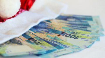Weihnachten Geld