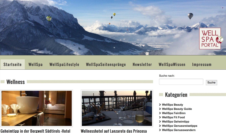 WellSpa Online Magazin