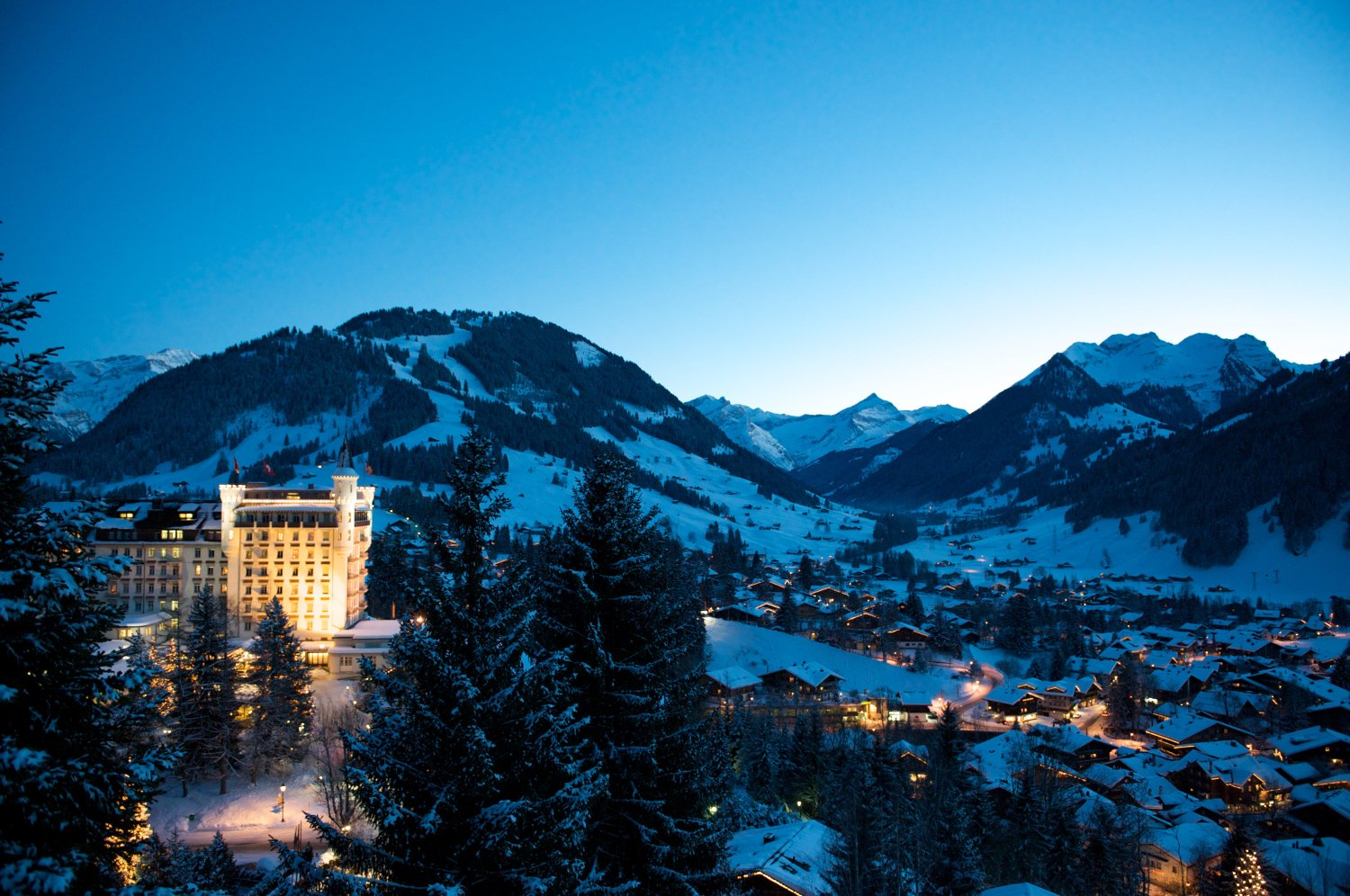 Hotel Palace Gstaad, Gstaad