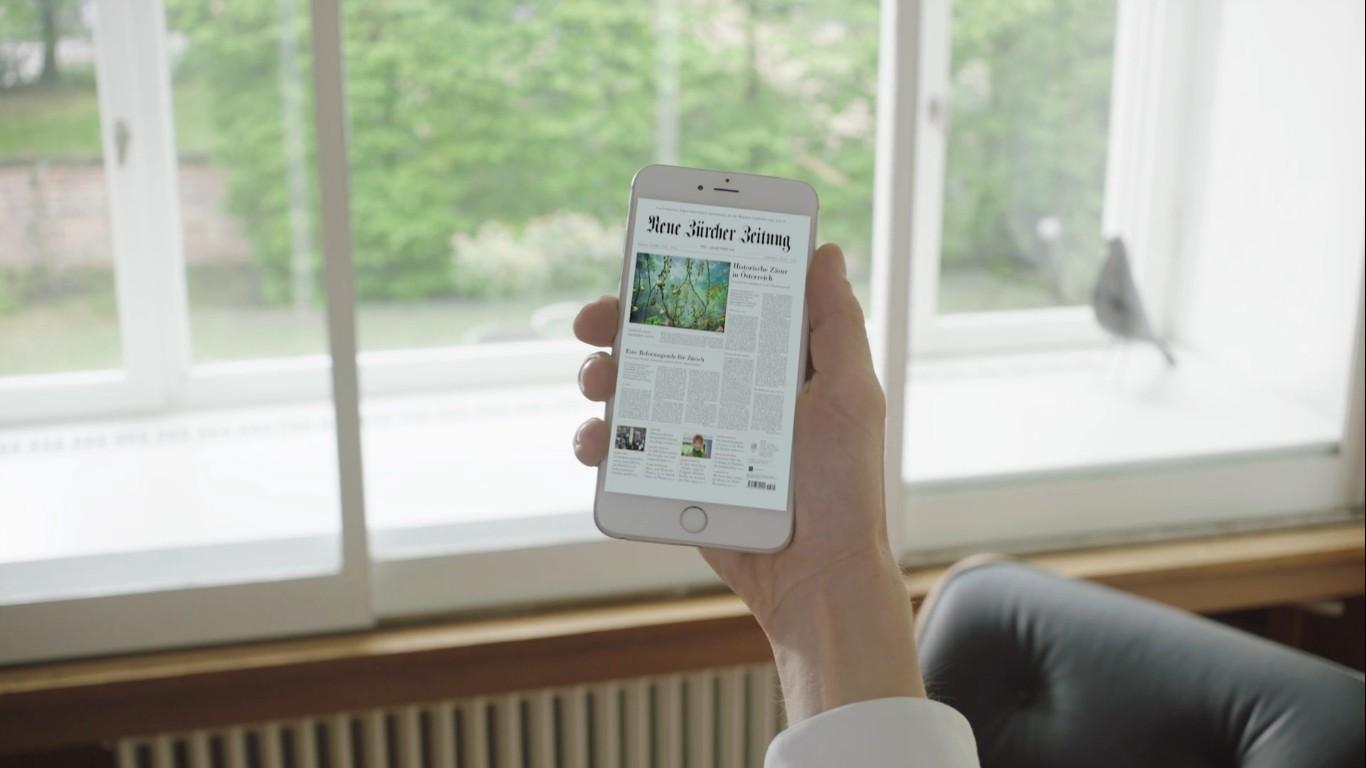 NZZ E-Paper-App