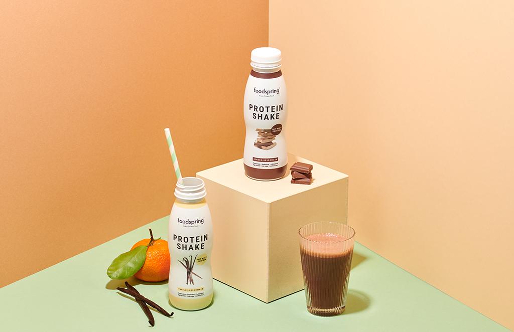 Die neuen «Ready to Drink» Protein Shakes von foodspring sind da!
