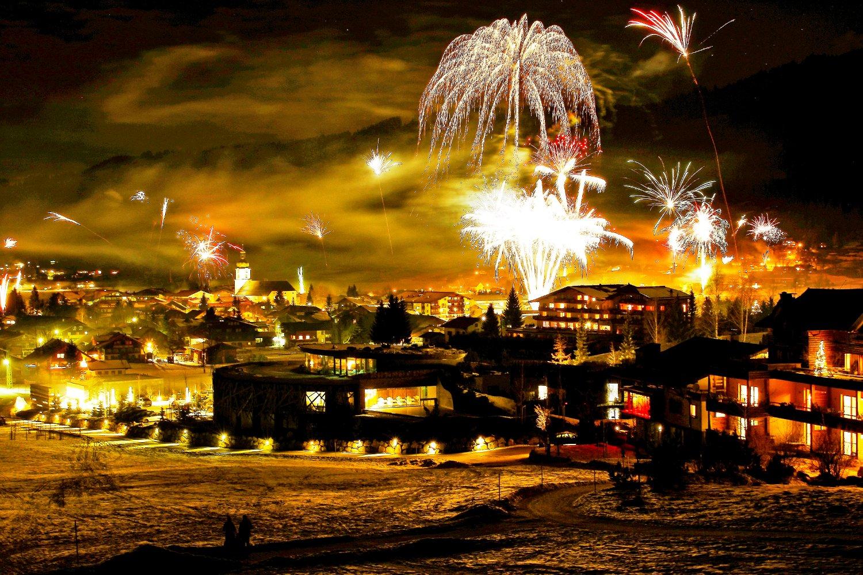 Silvester Feiern in den Alpen
