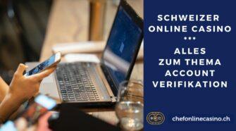 In einem Schweizer online Casino bist du gesetzlich verpflichtet deinen Account zu verifizieren. Wir klären für dich alle offenen Fragen zu diesem Thema.