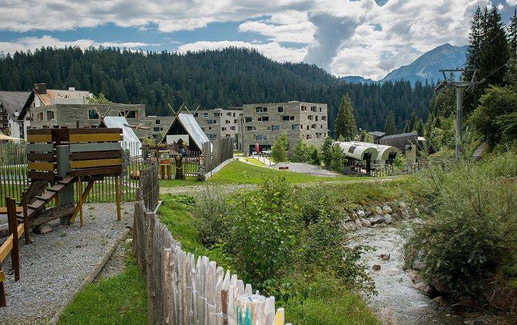 Titelbild vomene Hotel in Laax