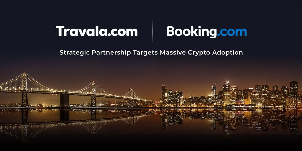 Travala akzeptiert Bitcoin in Booking.com Hotels
