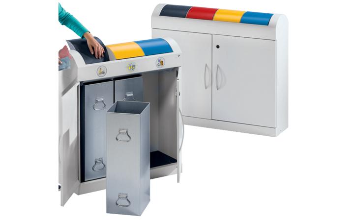 Wertstoffsammler und Sortiersystem (Bild: Gaerner.ch)